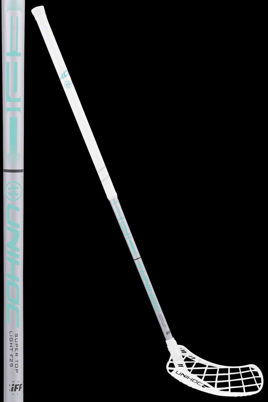 unihoc EPIC Super Top Light 29 white/turquoise
