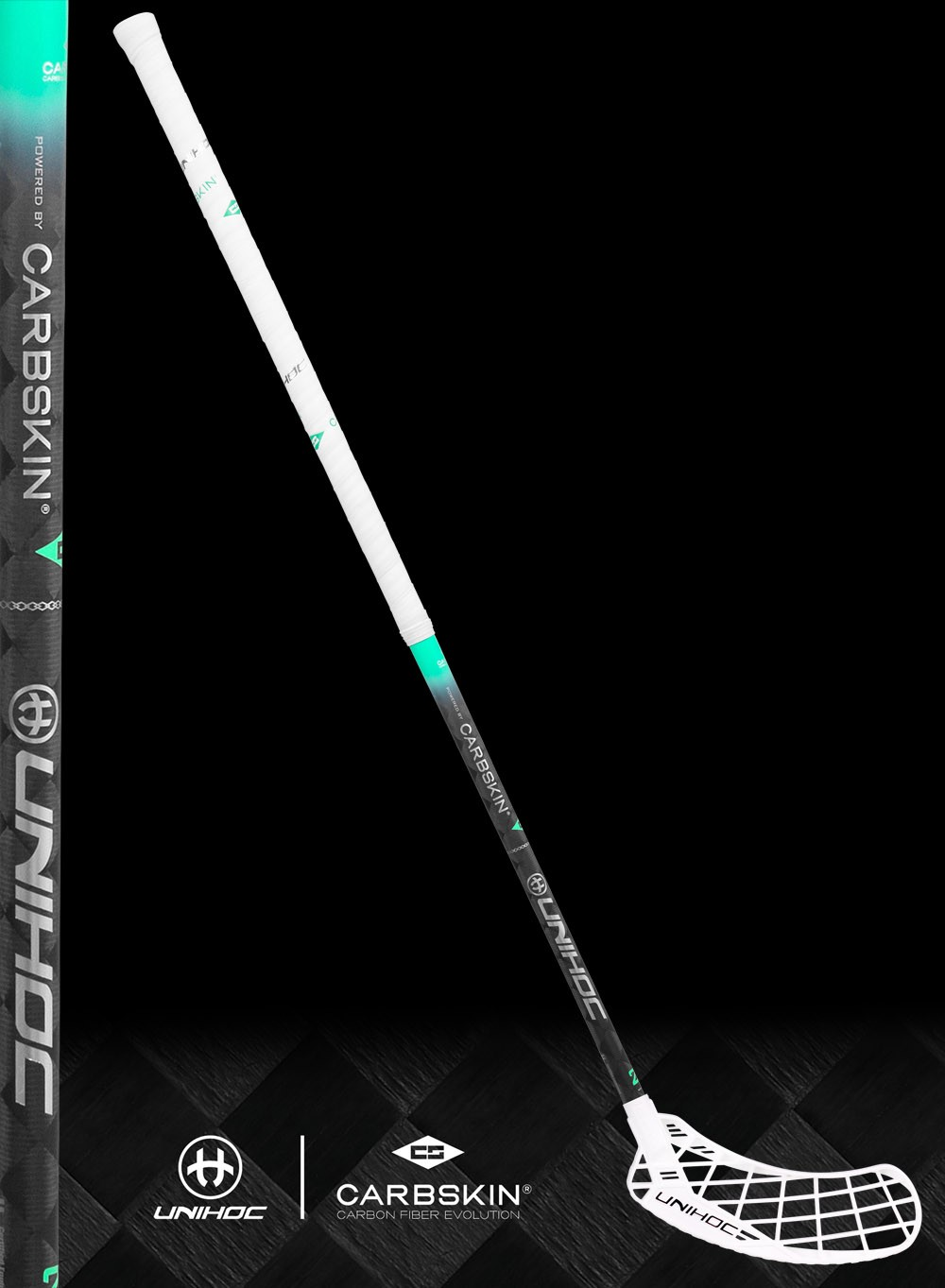 unihoc EPIC Carbskin 29 white