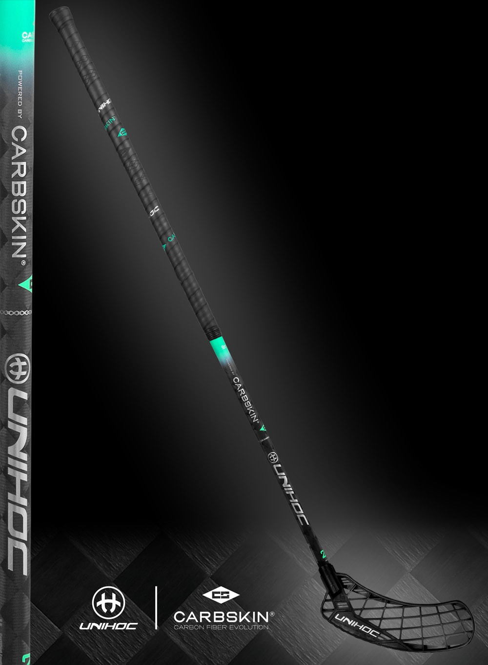 unihoc EPIC Carbskin 26 black