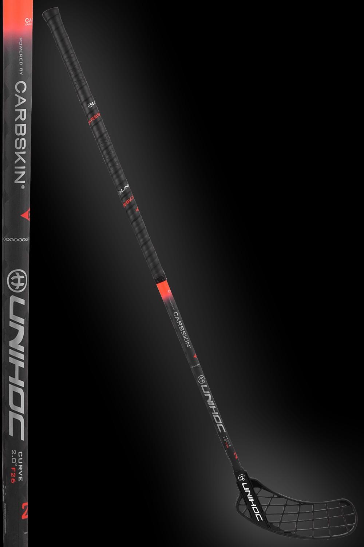 unihoc SONIC Carbskin Curve 2.0 26 black/red
