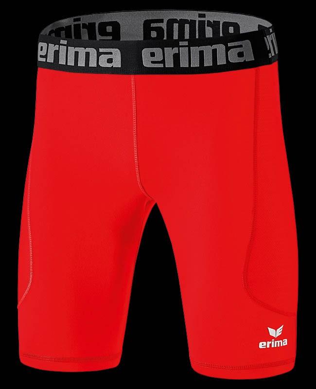 Erima Elemental Tight Short red