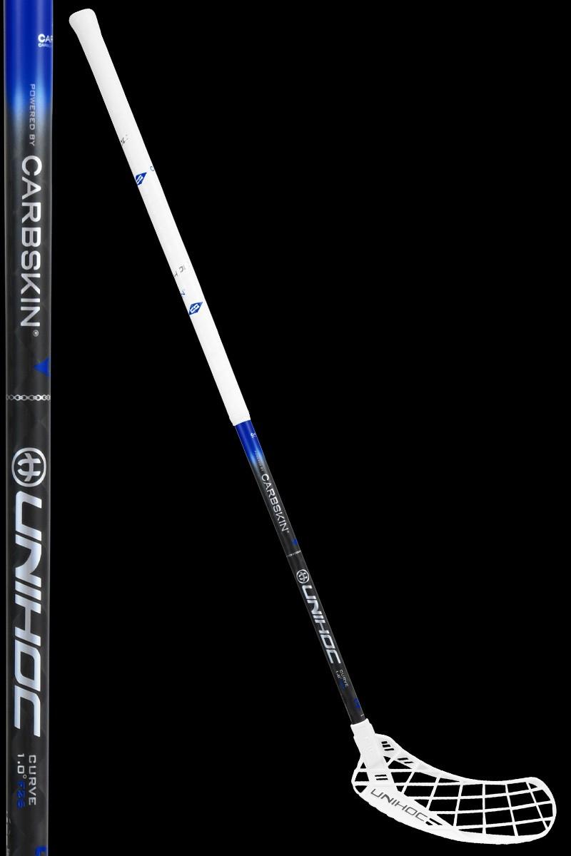 unihoc EPIC Carbskin Curve 1.0 26 white/black/blue