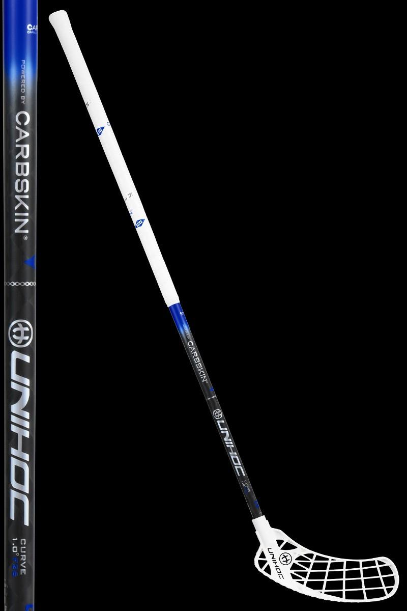 unihoc ICONIC Carbskin Curve 1.0 26 white/black/blue