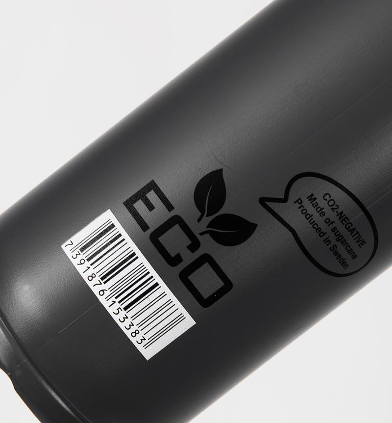 unihoc Trinkflasche Eco dark grey