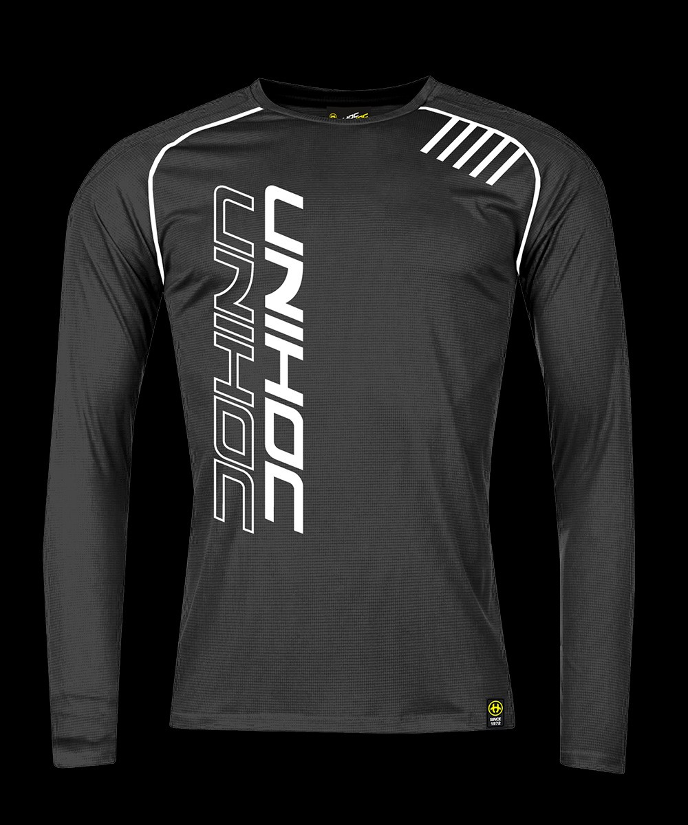 unihoc Warm-up Longsleeve Shirt schwarz