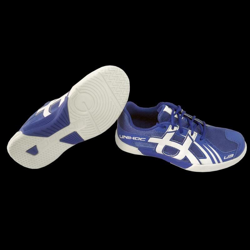 unihoc U3 Junior blue/white