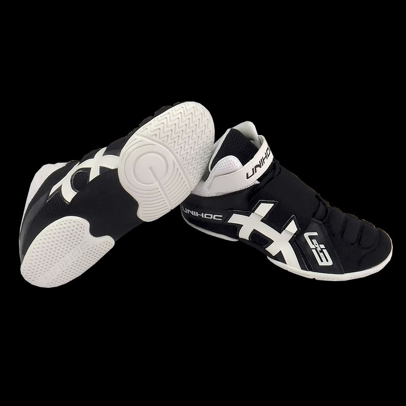 unihoc U3 Goalieschuh black/white