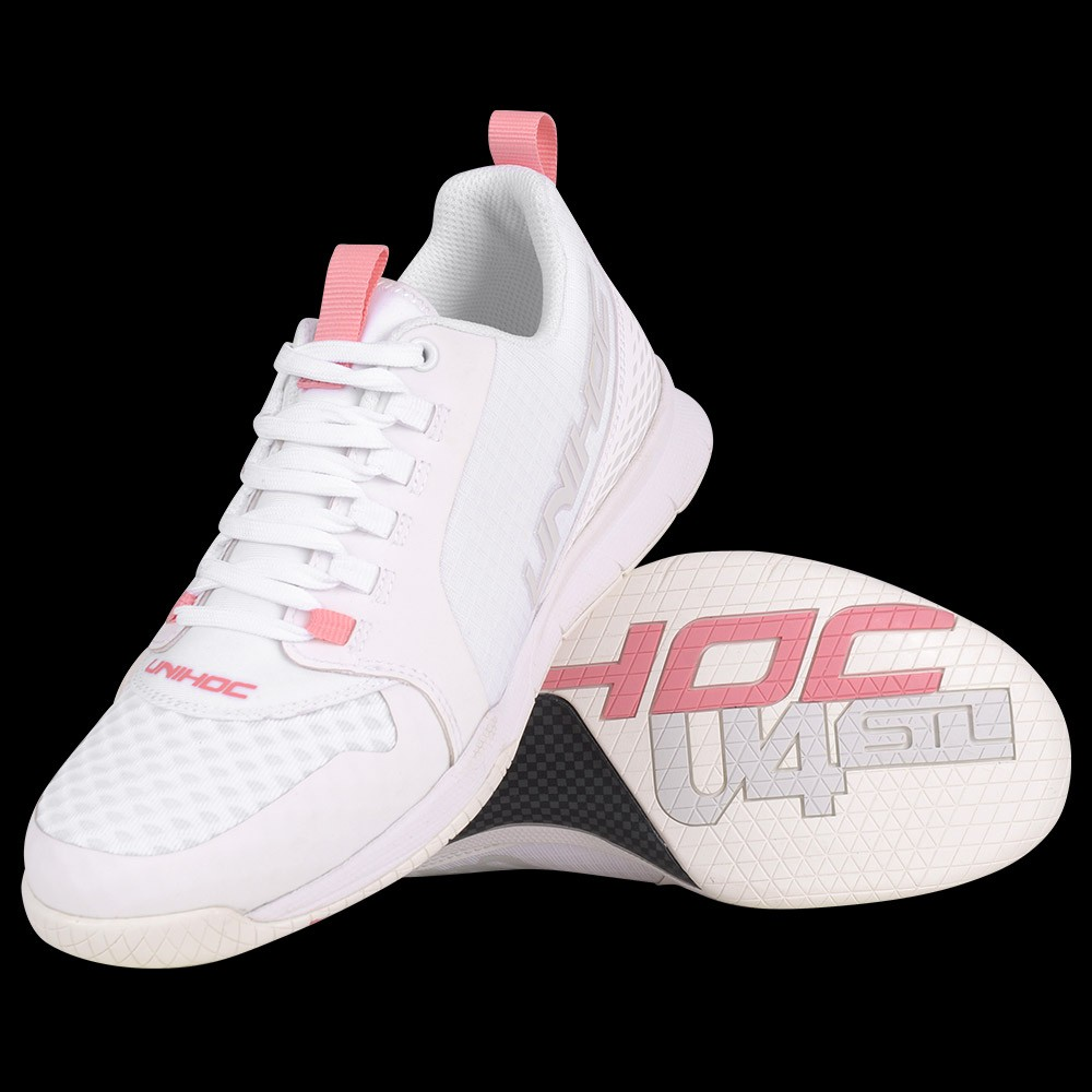 unihoc U4 Plus LowCut Lady white/pink