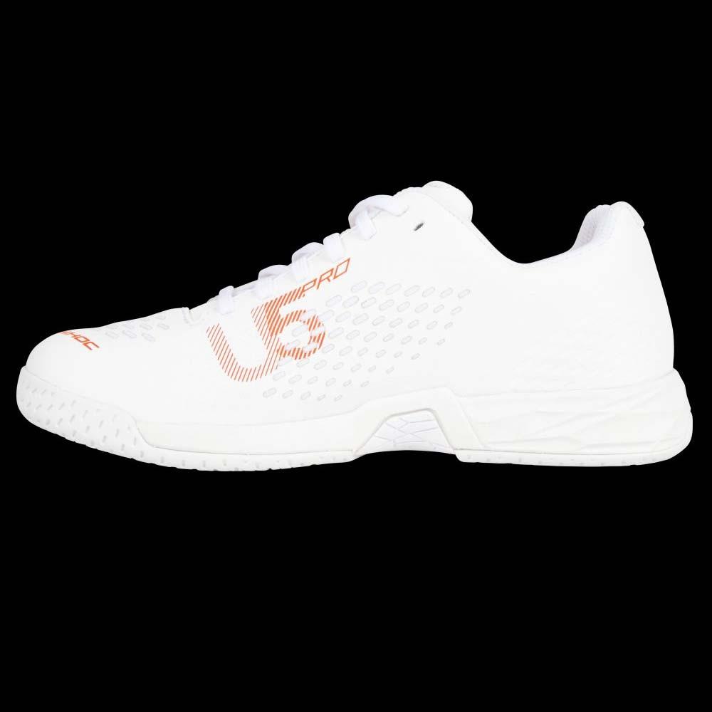 unihoc U5 PRO LowCut Women white/coral