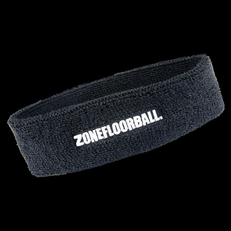 Zone Headband Retro schwarz