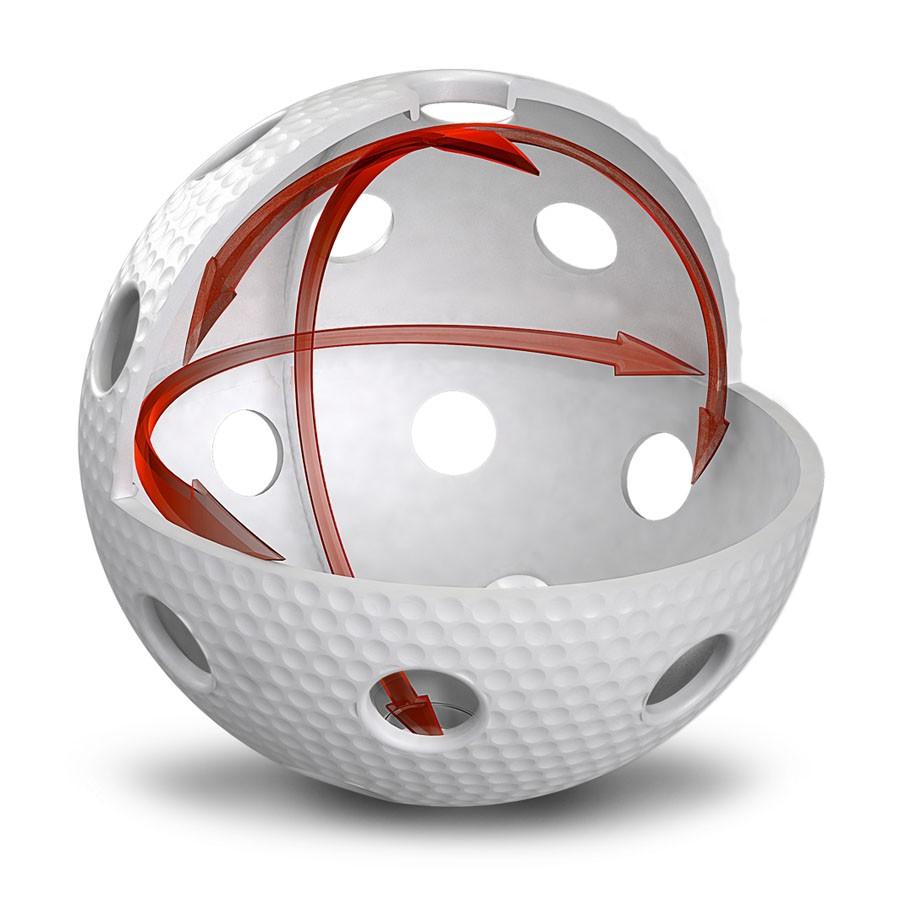 Salming Matchball Aero weiss (100er Pack)