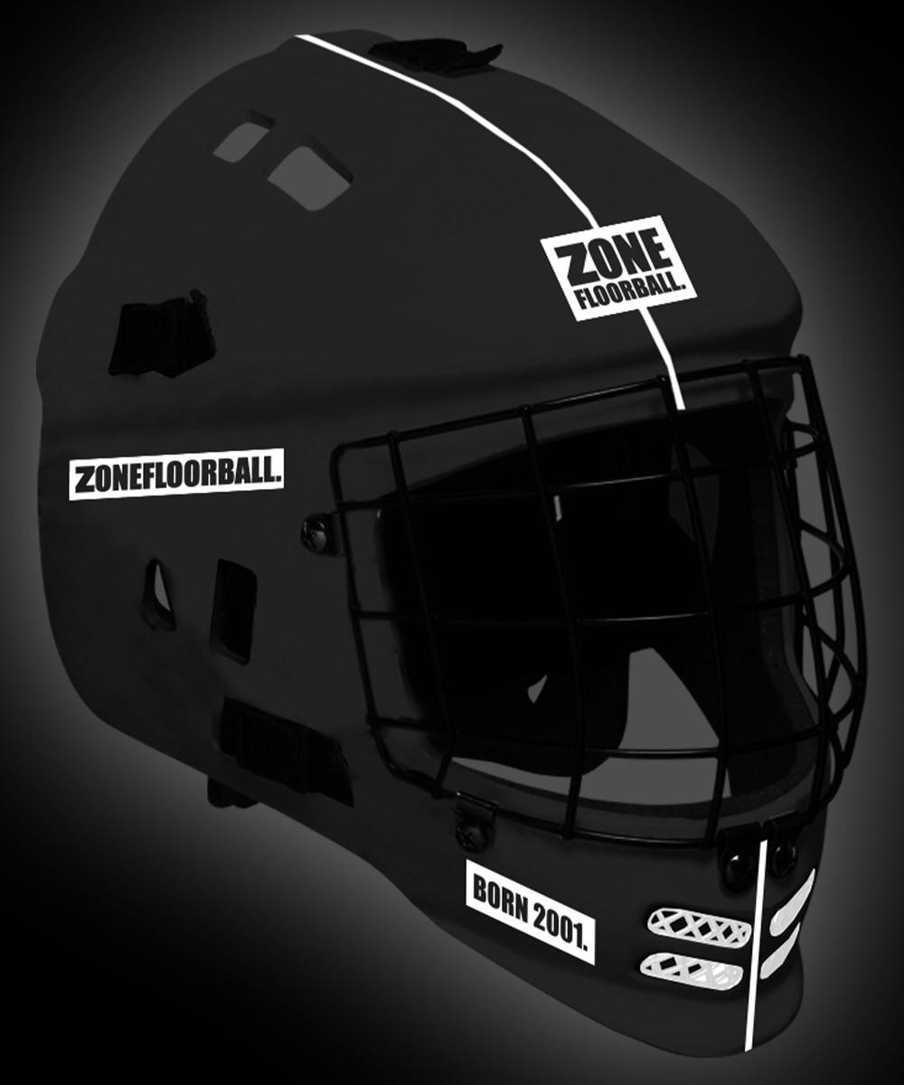 Zone Goaliemaske Patriot black