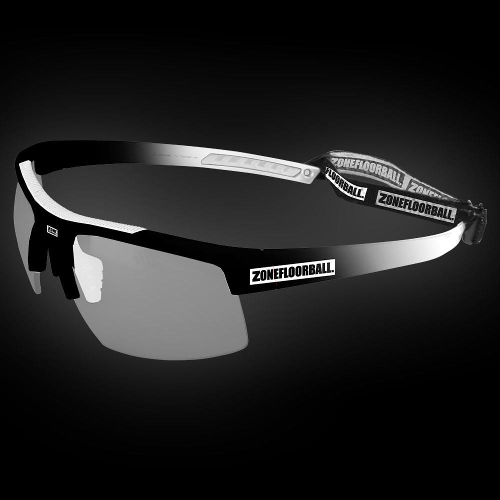 Zone Sportbrille Protector Senior schwarz/weiss