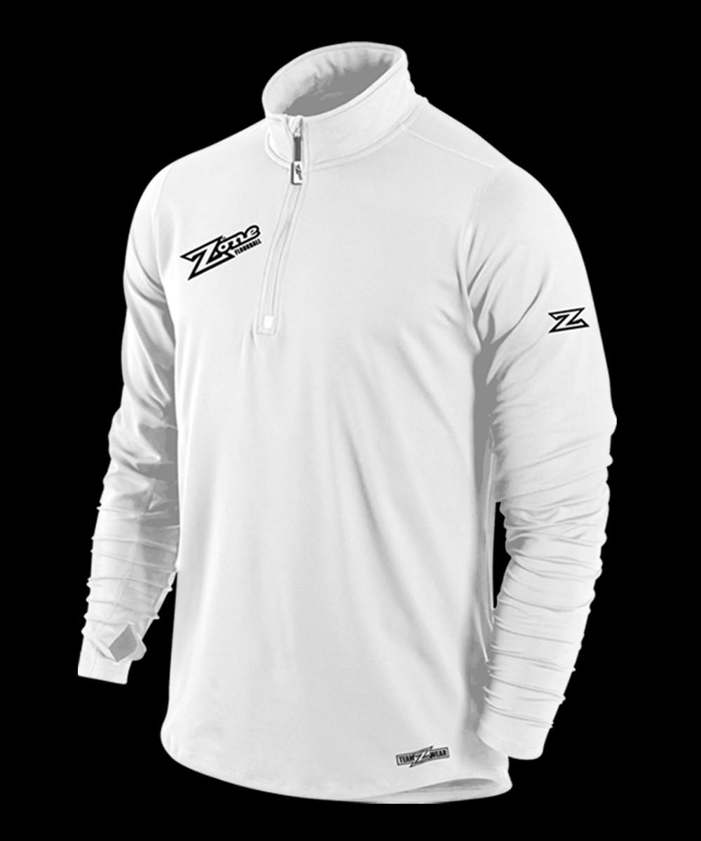 Zone Longsleeve Shirt Pregame white
