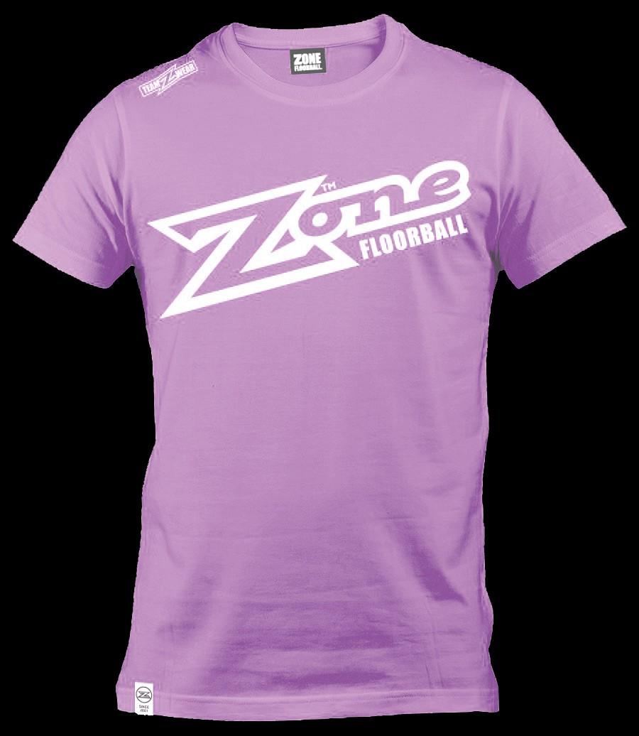 Zone T-Shirt Teamwear light violet