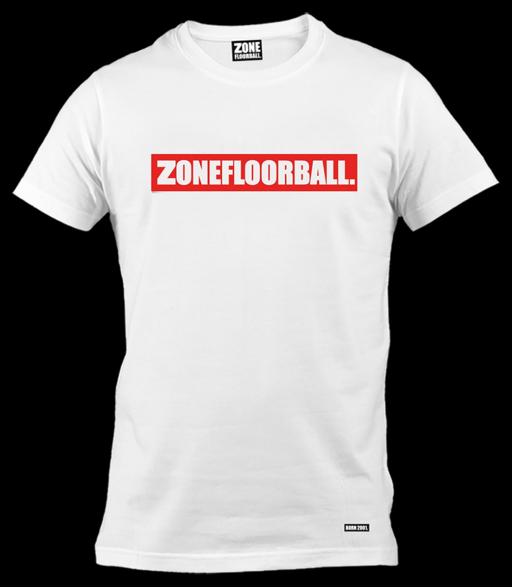 Zone T-Shirt Personal white/red