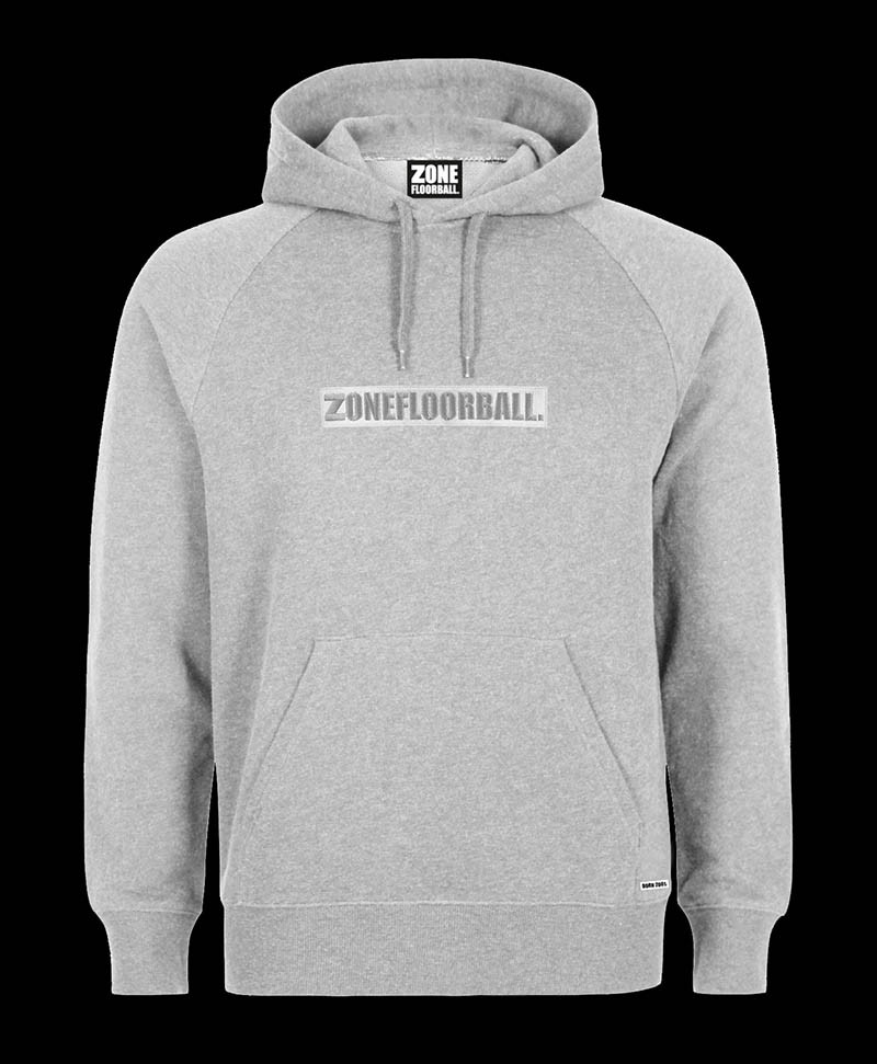 Zone Hood Troublemaker grey