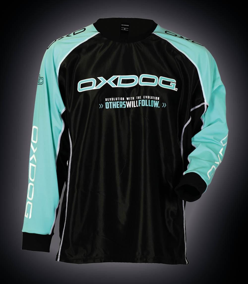 OXDOG Goalieshirt Tour tiff blue