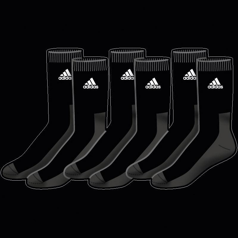adicrew HC 3pp Sock black (3-Pack)
