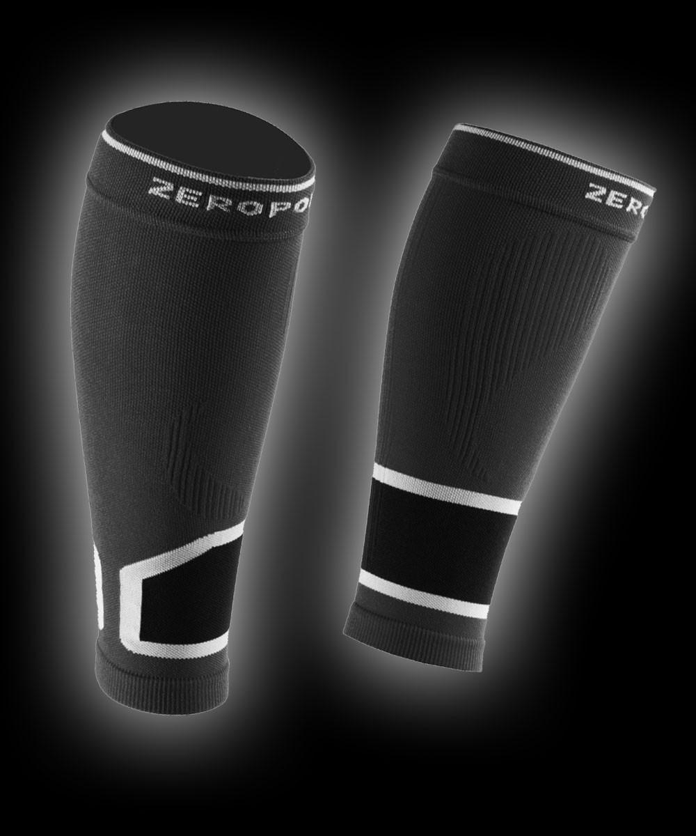 Zero Point Compression Calf Sleeves 2.0 black