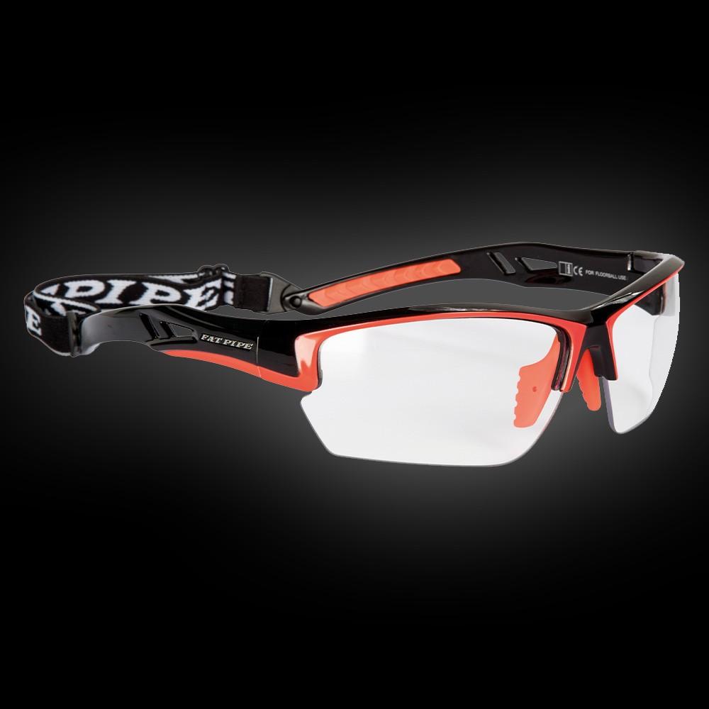 Fatpipe Sportbrille Protective Junior schwarz-orange