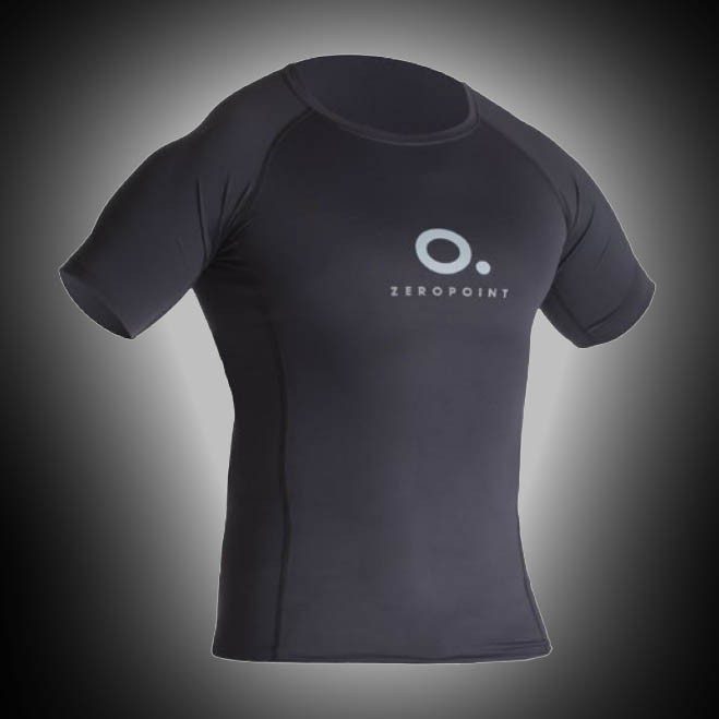 ZeroPoint Power Compression T-Shirt Men black