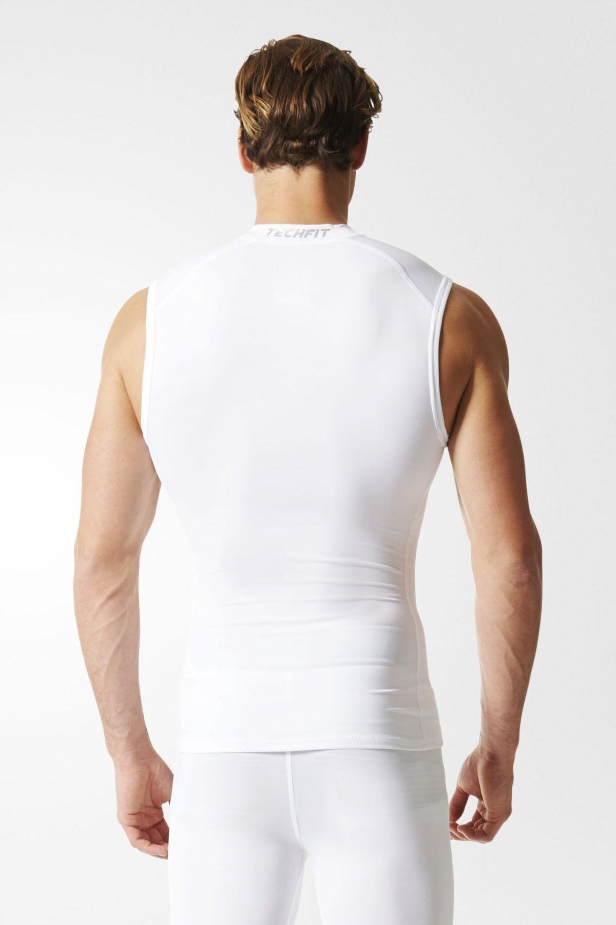 Adidas TECHFIT Base Sleeveless Tee white