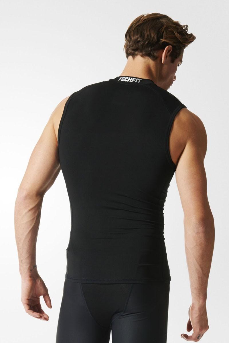 Adidas TECHFIT Base Sleeveless Tee black
