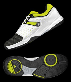 Adidas Court Stabil 12 black/silver/yellow