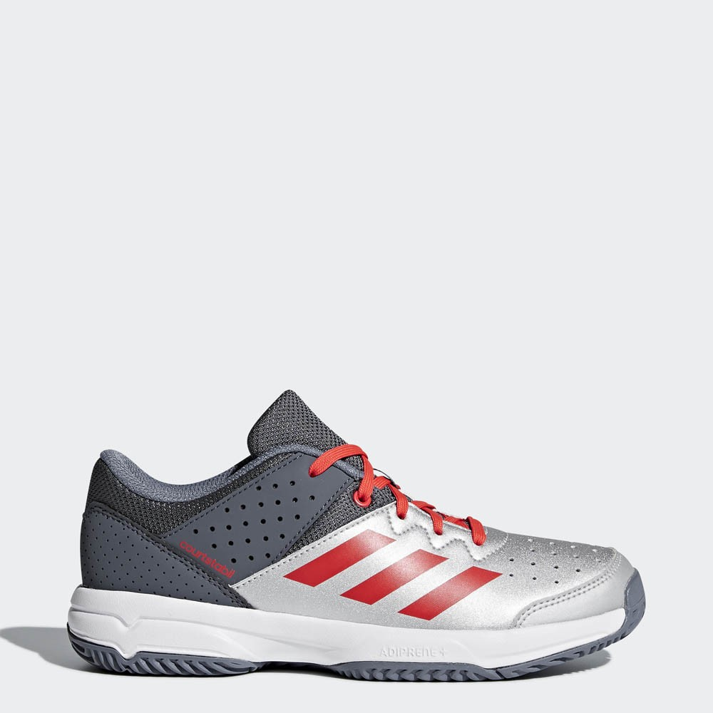 Adidas Court Stabil Junior silver/grey