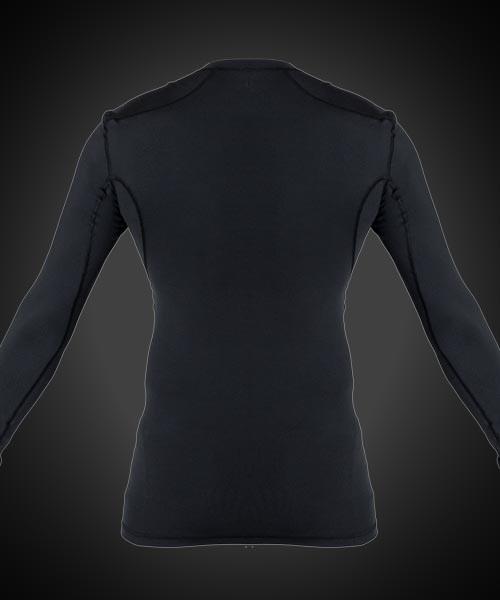 Blindsave Longsleeve Compression Shirt black
