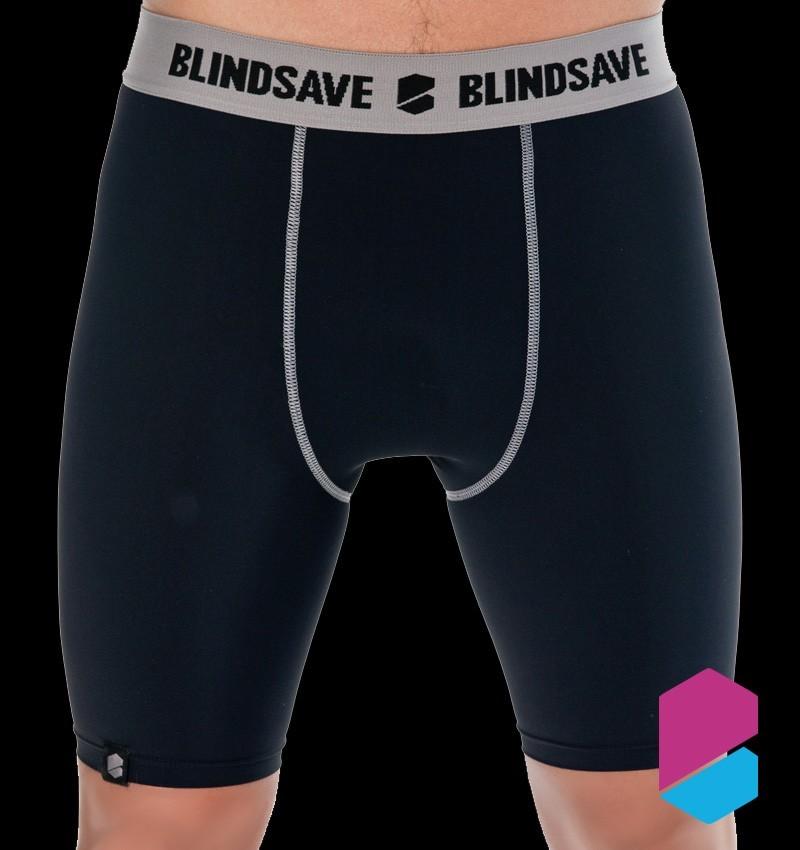 Blindsave Compression Shorts black