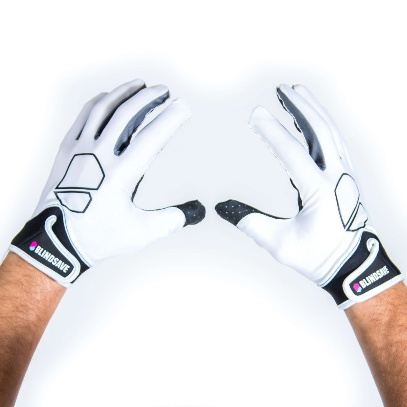 Blindsave Goaliehandschuhe Premium weiss