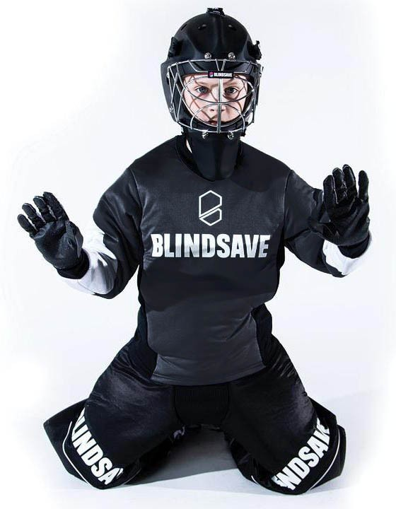 Blindsave Goalieset Junior mit Padding