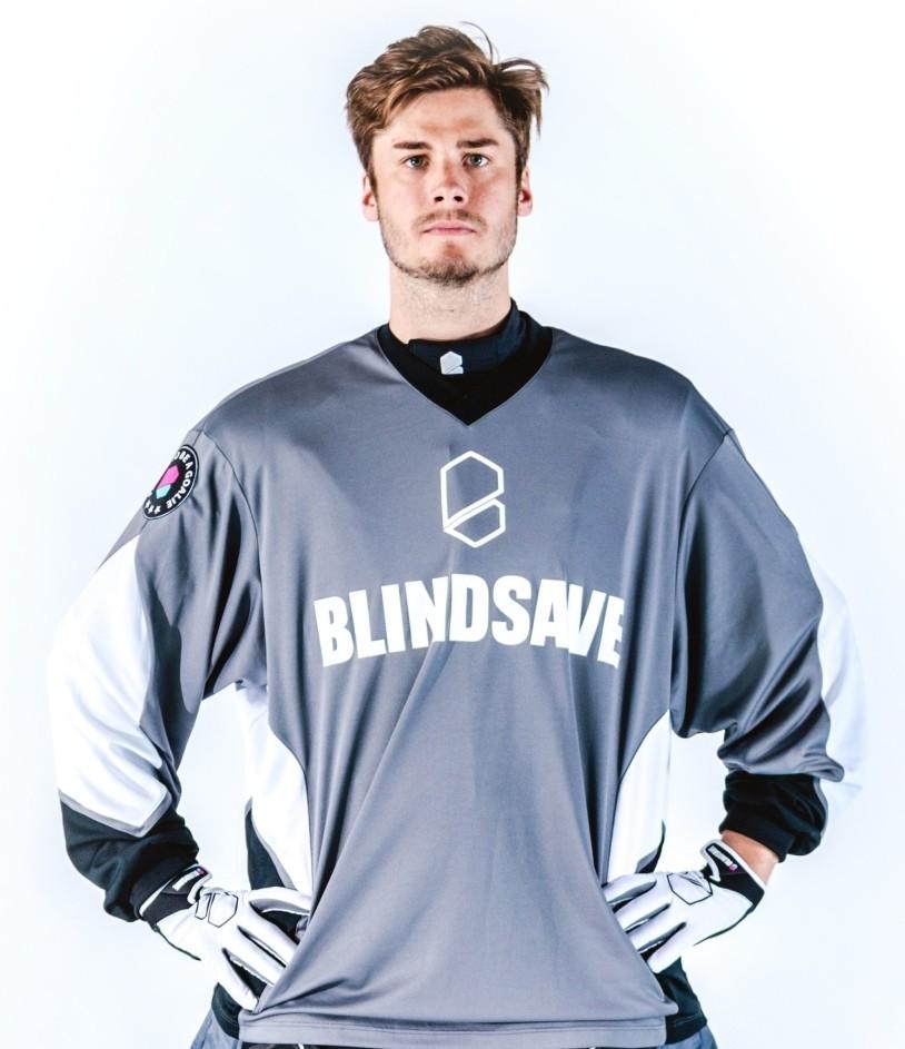 Blindsave Goalie Jersey Confidence grey