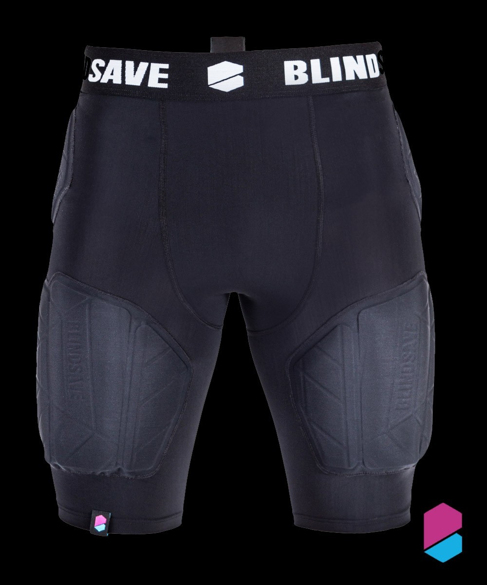 Blindsave Protective Shorts Pro (Rebound Control & Cup)