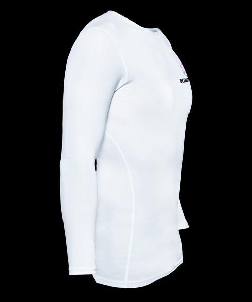 Blindsave Longsleeve Compression Shirt white