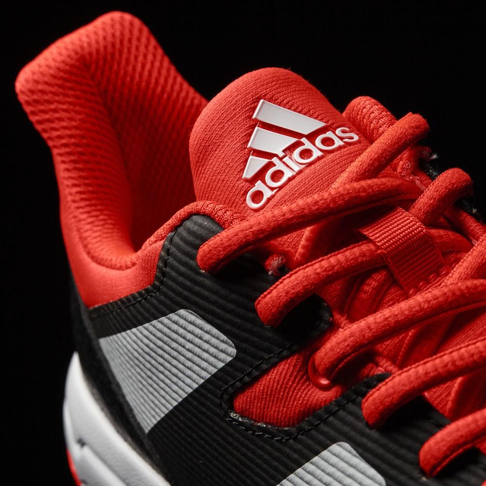 Adidas Stabil X Junior solar red/white/black