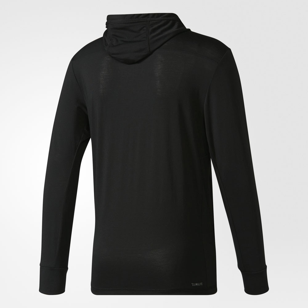 adidas Workout Fullzip Hood black