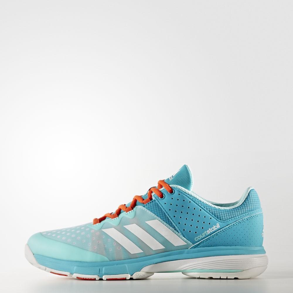 Adidas Court Stabil Men aqua/white