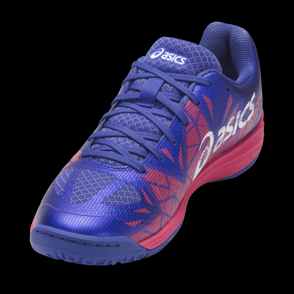 asics GEL FASTBALL Lady blue purple/pink