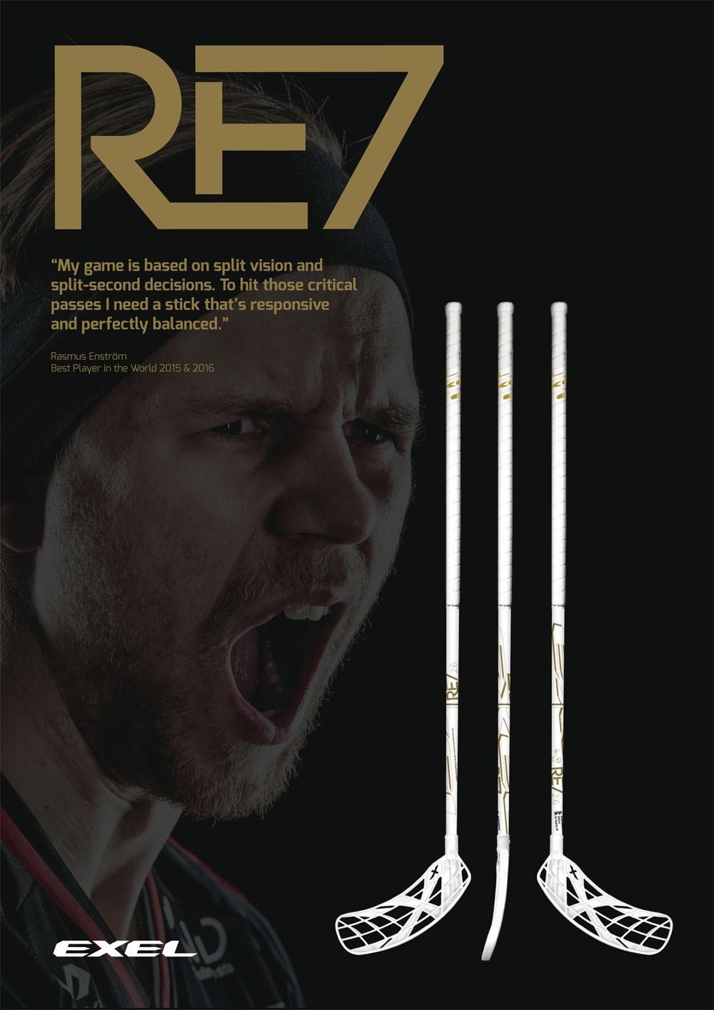 Exel RE7 Rasmus Enström White Edition 2.6