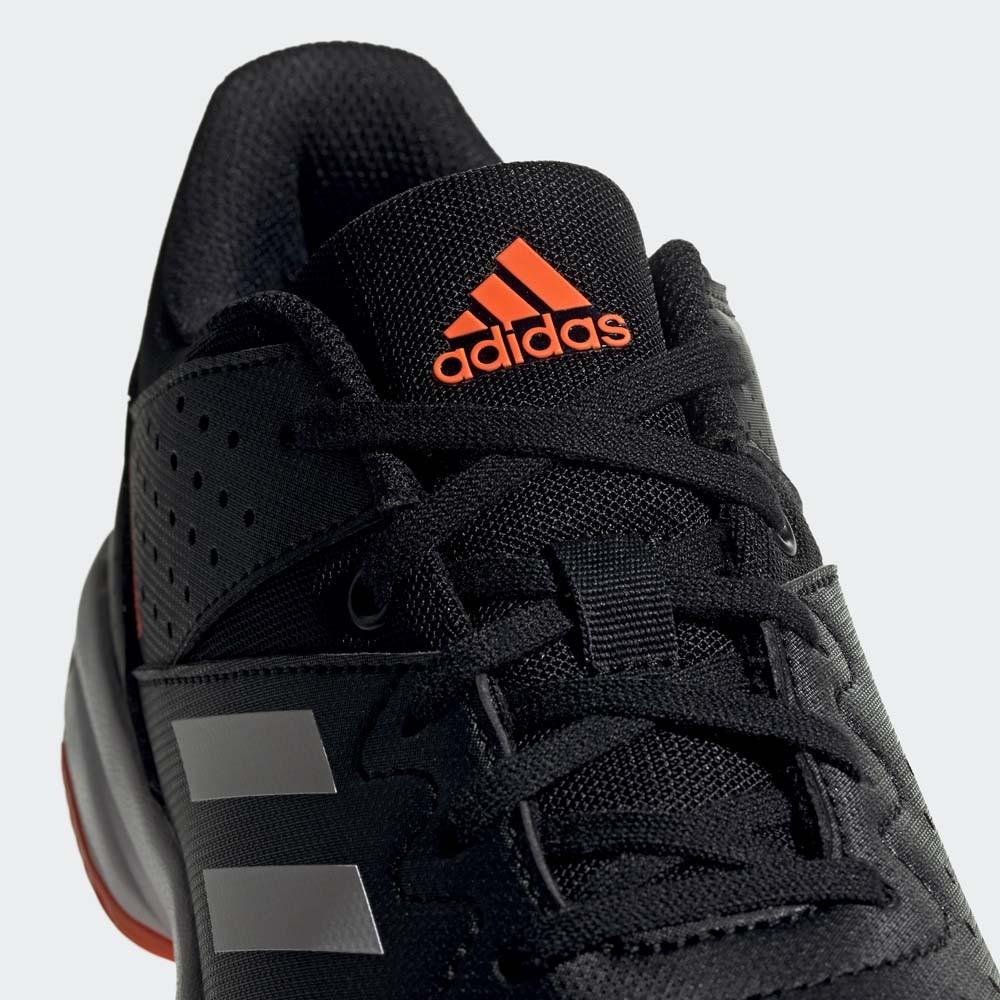 Adidas Court Stabil Junior core black/orange