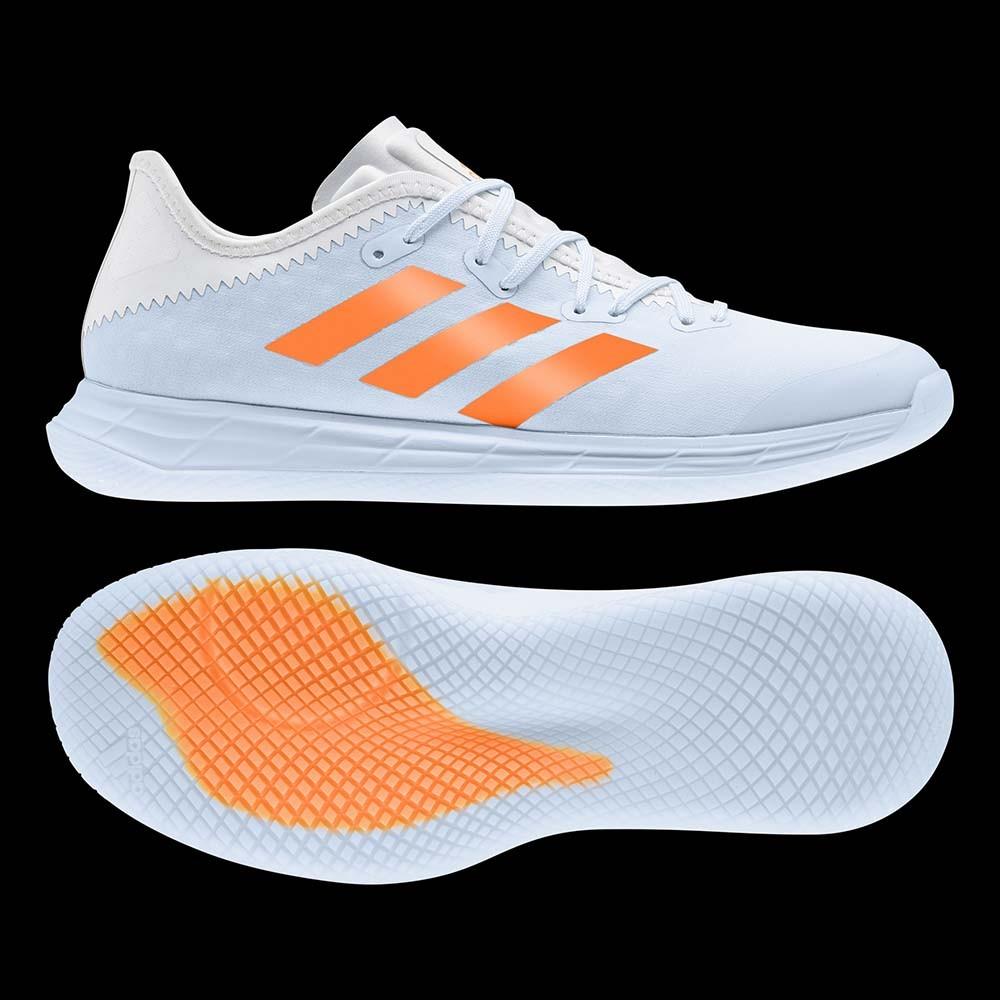 Adidas Adizero FastCourt Women sky tint/orange