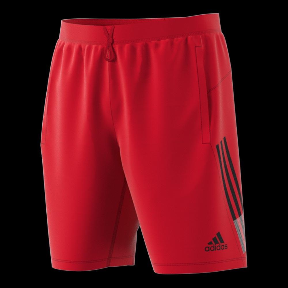 adidas 3 Stripes Short scarlet