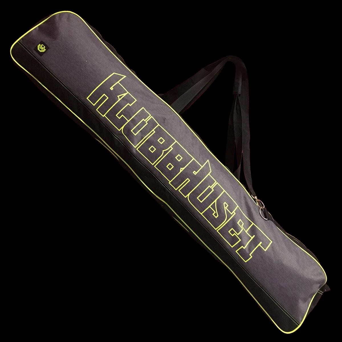 Klubbhuset Toolbag XF dark grey-yellow
