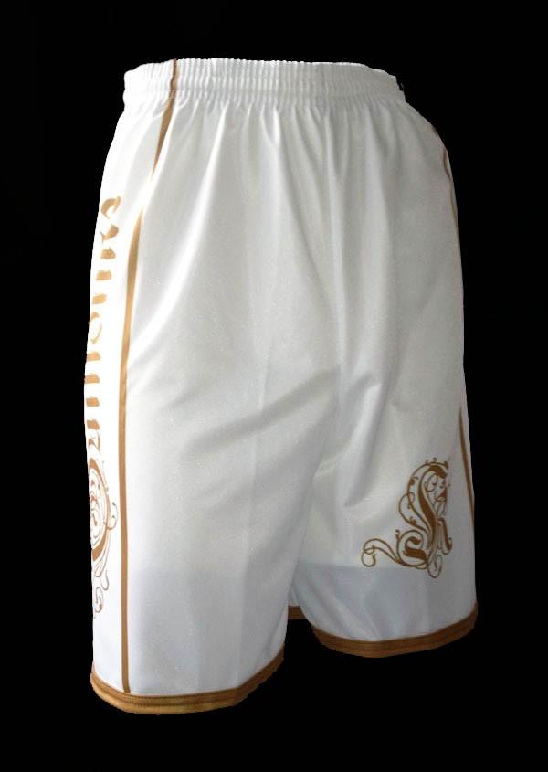 Louis XIV Bermudas Guillotine blanc
