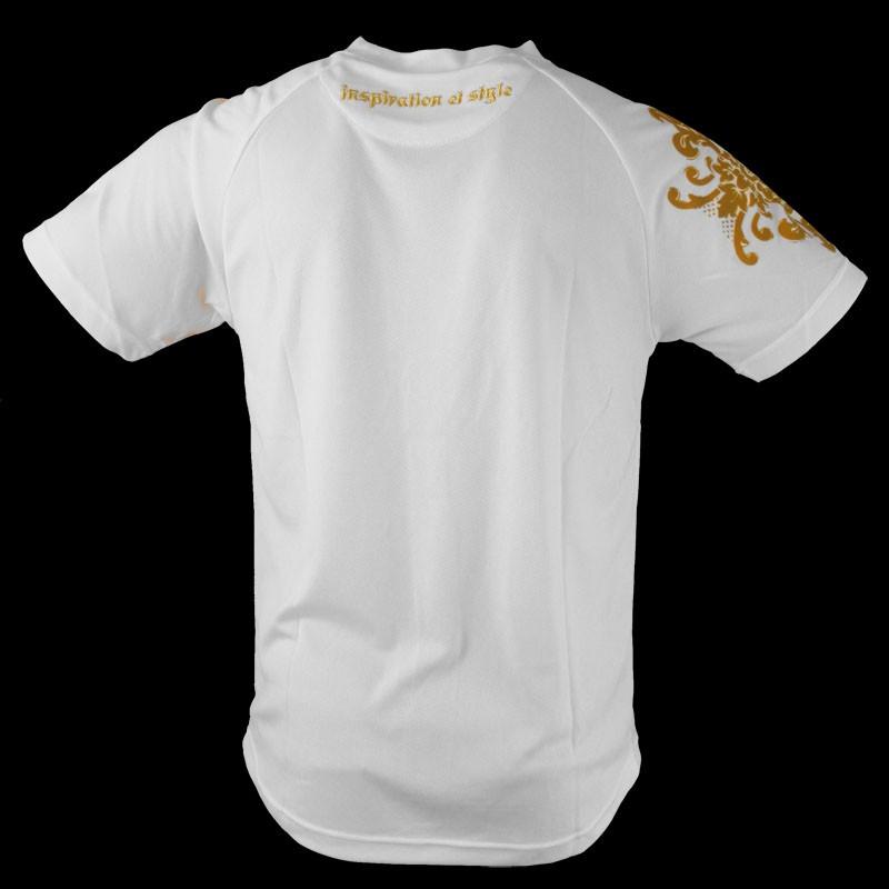 Louis XIV T-Shirt Training blanc d'or