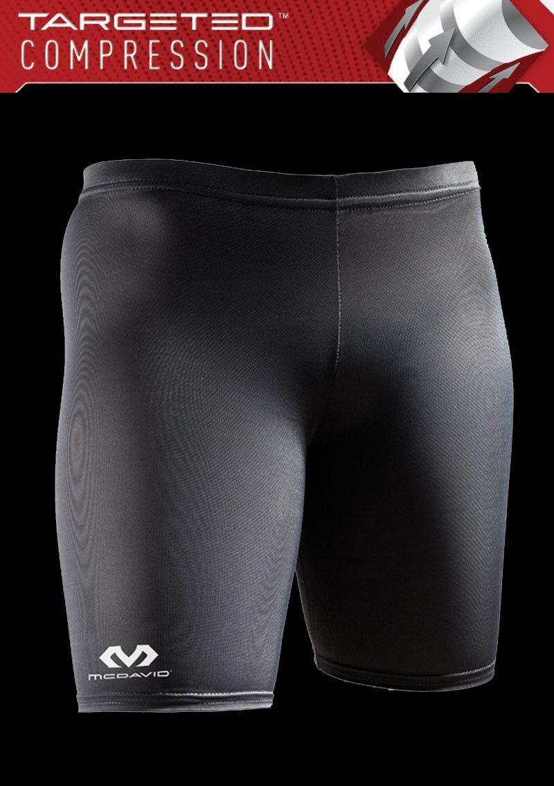 Mc David Compression Shorts Women black