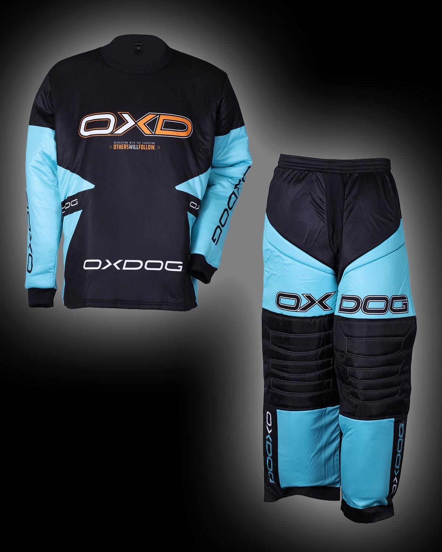OXDOG Goalieset Vapor Junior tif blue